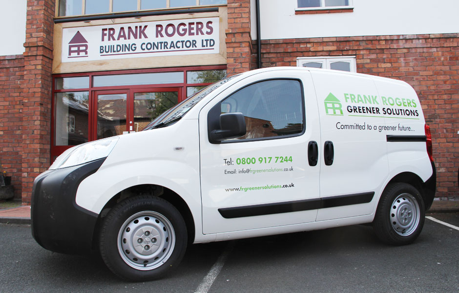 Frank Rogers Lighten The Load With New Eco Vans