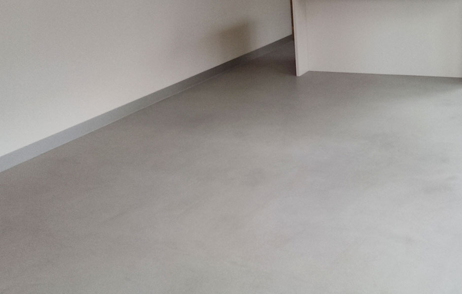 EMB Housing Internal Concrete Flooring