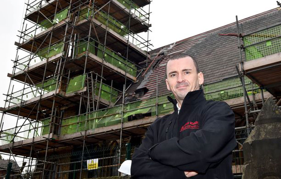 FRANK ROGERS PLEDGE TO HELP 'STOP THE ROT'