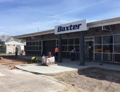 Baxter Healthcare Groundworks & External Improvements