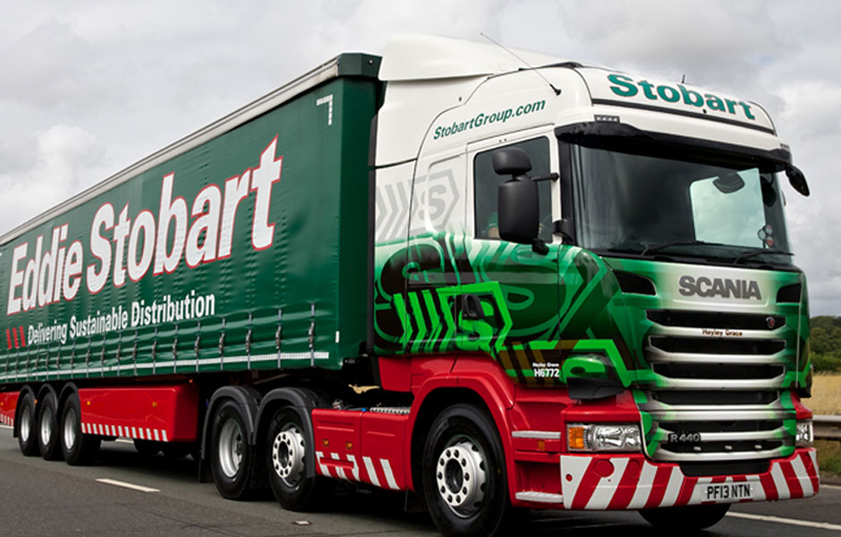FRANK ROGERS ON BOARD WITH EDDIE STOBART