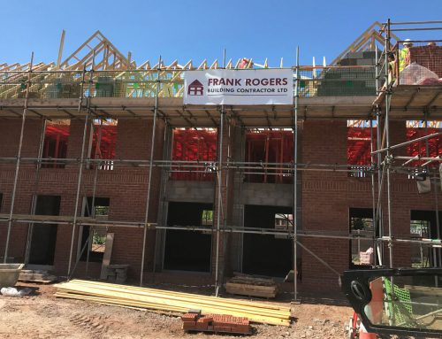 WORK GATHERS PACE AT SOCIAL HOUSING NEW BUILD SCHEME