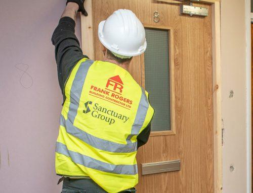 Sanctuary Housing Group – Fire Door Upgrade Works, Newtown Tower Blocks